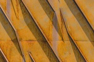 Yellow rusty texture