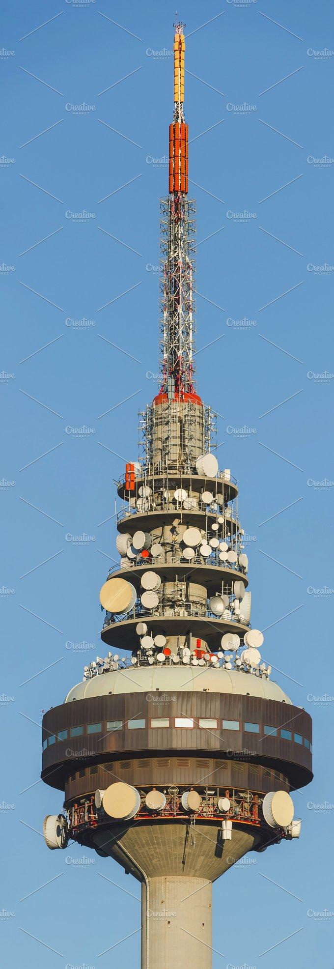 Telecommunications tower. Madrid - Technology