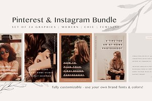 Pinterest & Instagram Bundle | SALE