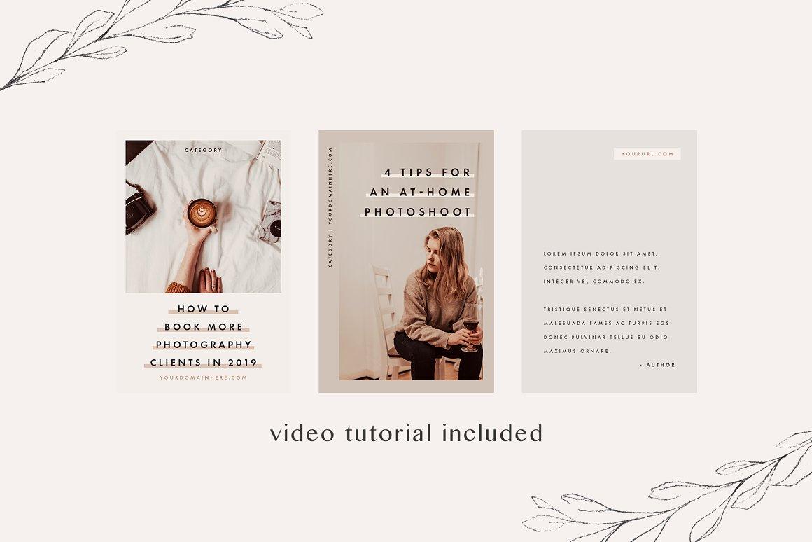 Pinterest & Instagram Bundle   SALE