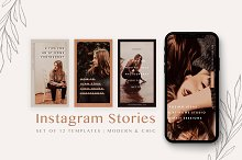 Modern Instagram Stories Pack by  in Social Media