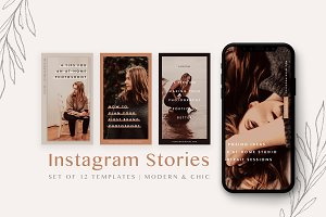 Modern Instagram Stories Pack
