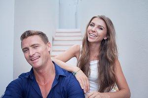 with boyfriend