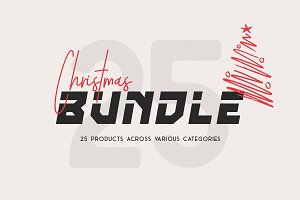 SALE - Christmas Font Bundle