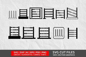 Abucus SVG Cut File
