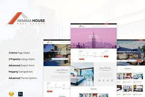 Hemma House - Real Estate Template
