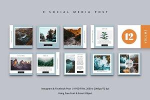 Social Media Post Vol. 12