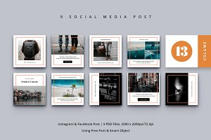 Social Media Post Vol. 13