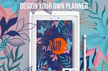 Design your own digital planner by  in Product Mockups