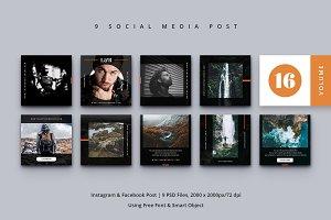 Social Media Post Vol. 16