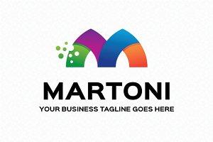 Martoni Logo Template