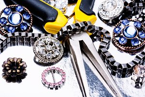 Jewelry making tools and accessories