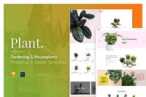 Plant - Gardening & Houseplants Temp