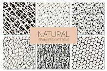 Natural Seamless Patterns Set 1