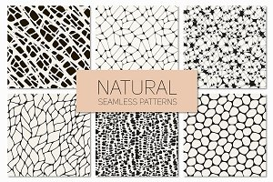 Natural Seamless Patterns Set 1