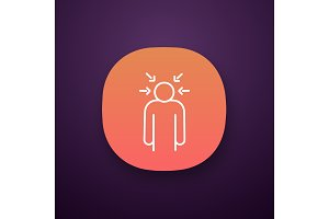 Nervous tension app icon
