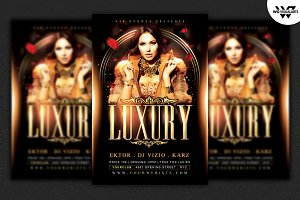 LUXURY Flyer Template