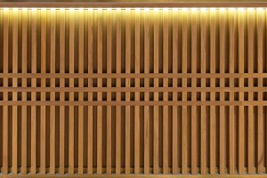 Wood Slats, timber battens wall patt
