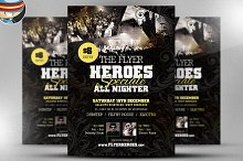 Heroes Speciale Flyer Template