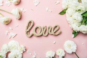 Saint Valentines day background