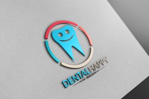 Dental Happy Logo