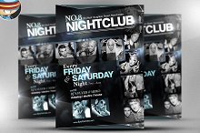 No. 8 Nightclub Flyer Template