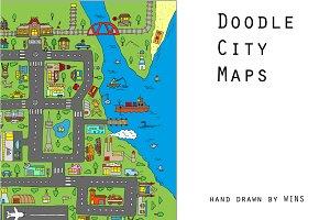Doodle city maps
