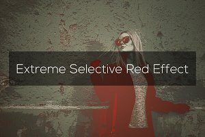 Extreme Selective Red Effect