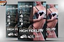 High Fidelity Flyer Template