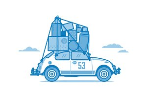 VW Bug: Moving Day