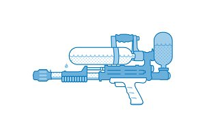 Water Gun: Super Soaker
