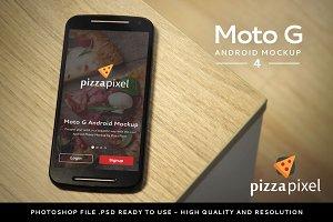 Mockup Moto G Easy Android Mockup 4