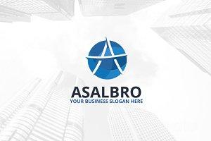 Asalbro Logo Template
