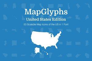 MapGlyphs - United States
