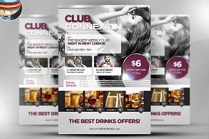 Club Connexion Flyer Template
