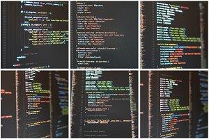 Web Developer's Code Photo Bundle