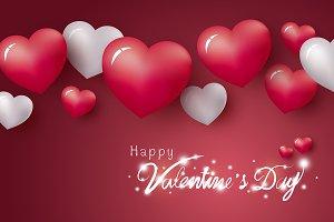 Happy Valentine's Day design
