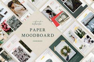 Paper Moodboard -  Social Kit