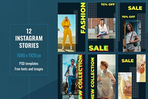 Fashion Instagram Stories Templates