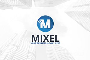 Mixel Logo Template