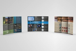 Trifold Brochures Bundle 01