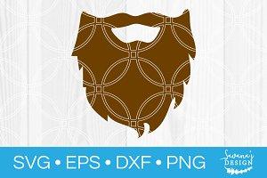 Beard SVG Cut File
