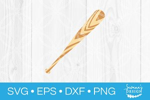 Baseball Bat SVG Cut File