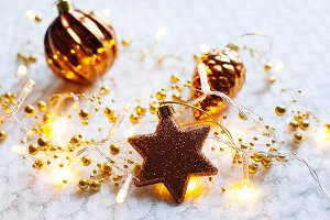 Christmas and New Year decorations t