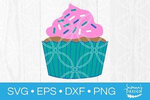 Cupcake SVG Cut File