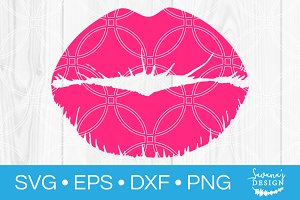 Kiss SVG Lips SVG Mouth SVG