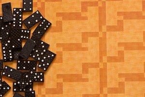 Black dominoes