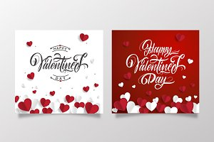 Happy Valentine's Day  Templates