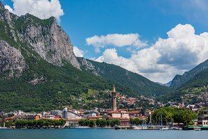 Lake Como summer view, Italy