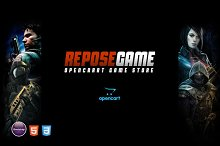 Repose - Game OpenCart Theme by  in OpenCart